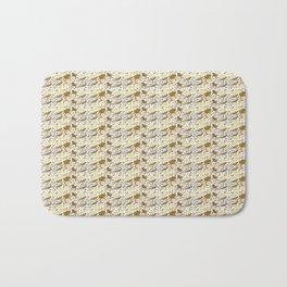 Reformed Bearded Dragons pattern Bath Mat