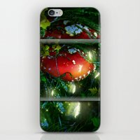 secret life iPhone & iPod Skins featuring Secret Life Of Pixies by Jia Sen