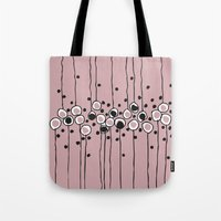 art deco Tote Bags featuring art deco by Ioana Luscov