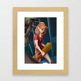 Sarah Conner Framed Art Print