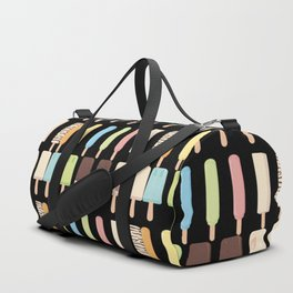 candy popsicles black Duffle Bag
