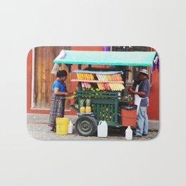 Guatemalan Fruit stand Bath Mat
