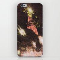 eiffel iPhone & iPod Skins featuring Eiffel by AZerhusen