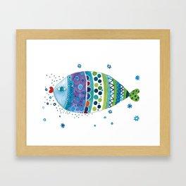 Fish3 Framed Art Print