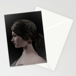 Numerical Woman Stationery Cards