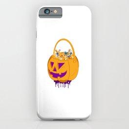 Halloween Pumpkin sweet or sour iPhone Case