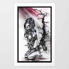 Black Cherry Art Print