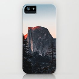 Last Light at Yosemite National Park iPhone Case