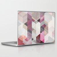 nordic Laptop & iPad Skins featuring Nordic Combination 22 Y by Mareike Böhmer