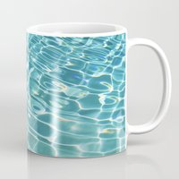 swim Mugs featuring Swim by Nimai VandenBos