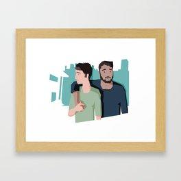 (Platonic) Love Since Sonya Framed Art Print
