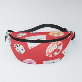 #casino #games #accessories #pattern 5 Fanny Pack