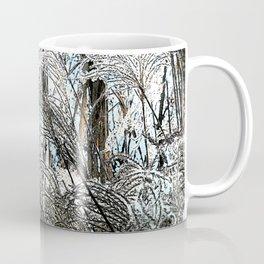 Reed - Blue and White Coffee Mug