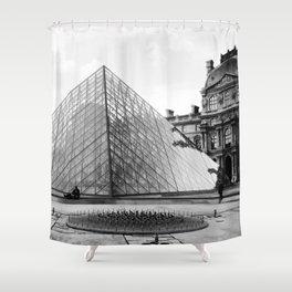 Pyramide de Louvre Shower Curtain
