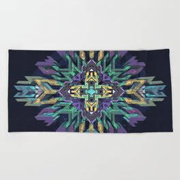 // Point of Access Beach Towel