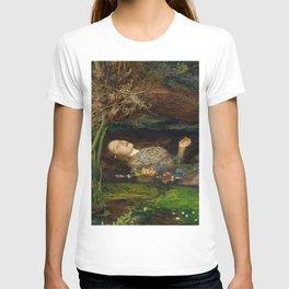 Ophelia, John Everett Millais T-shirt