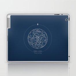 Doctor Who: Wibbly Wobbly Laptop & iPad Skin