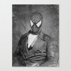Spidey Senior Canvas Print