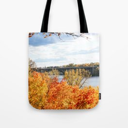 Twin Cities Mississippi River Tote Bag