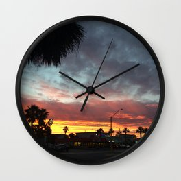 8:00 North Wall Clock