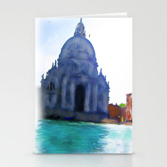 Italy on an Axis Stationery Cards
