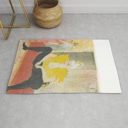 """Henri de Toulouse-Lautrec """"Sitting Clown"""" Rug"""
