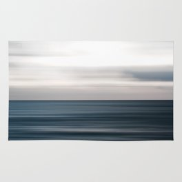 Sea, ocean, water and horizon Rug