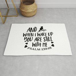 You are never alone Rug