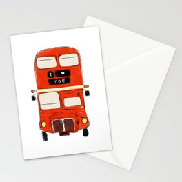 London Bus Stationery Cards