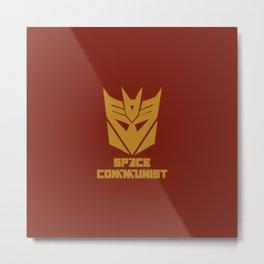 Space Communist Metal Print