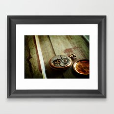 The Conductor's Timepiece - 2 Framed Art Print
