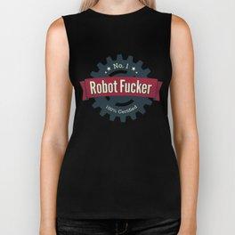No. 1 Robot Fucker Biker Tank