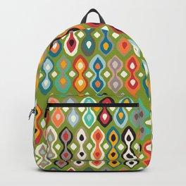 brocade green Backpack