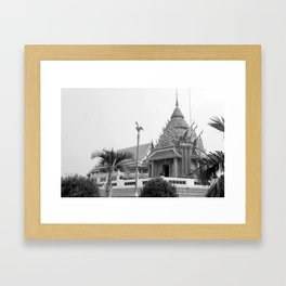Maha chula Temple Framed Art Print