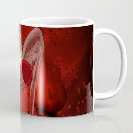 Wonderful heart with wings and dragon Coffee Mug