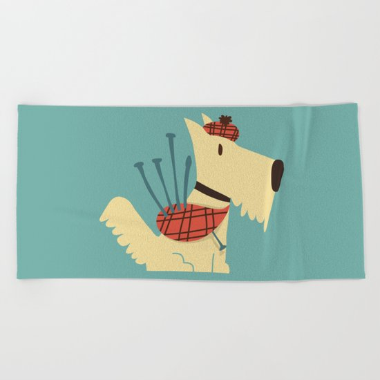 Scottish  Terrier - My Pet Beach Towel