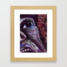 Is There Anyone Out There? Framed Art Print