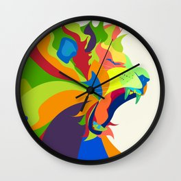 Like the Jungle Wall Clock