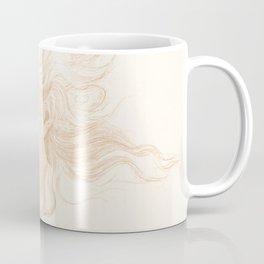 "Edward Burne-Jones ""Head of a Young Woman - Study for The Hesperides"" Coffee Mug"