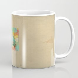 Montana state map  Coffee Mug