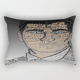 Typographic Sterling Archer Rectangular Pillow