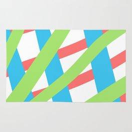 ColoredLines Rug
