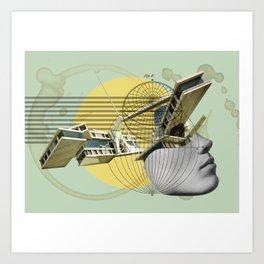 Coffee Stains Art Print