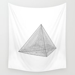 DMT TETRAHEDRON Wall Tapestry