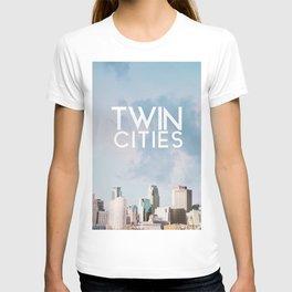 Minneapolis and Saint Paul Minnesota T-shirt