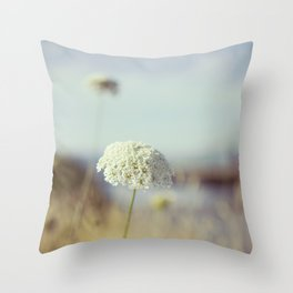 Simple Lace Throw Pillow