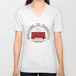 Welcome to the terminus Unisex V-Neck