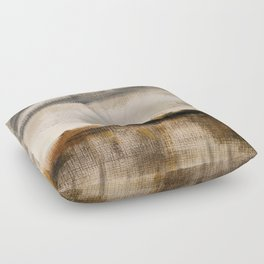 Steppe landscape Floor Pillow