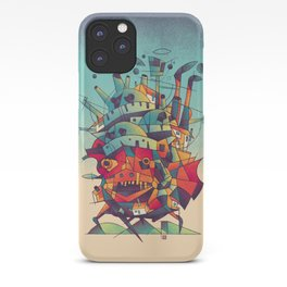 Moving Castle iPhone Case