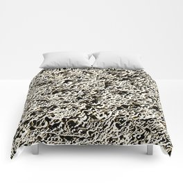 Relief Pattern Abstract Comforters